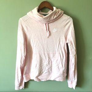 Nike Confetti Cowl / Funnel Neck Hooded Sweatshirt